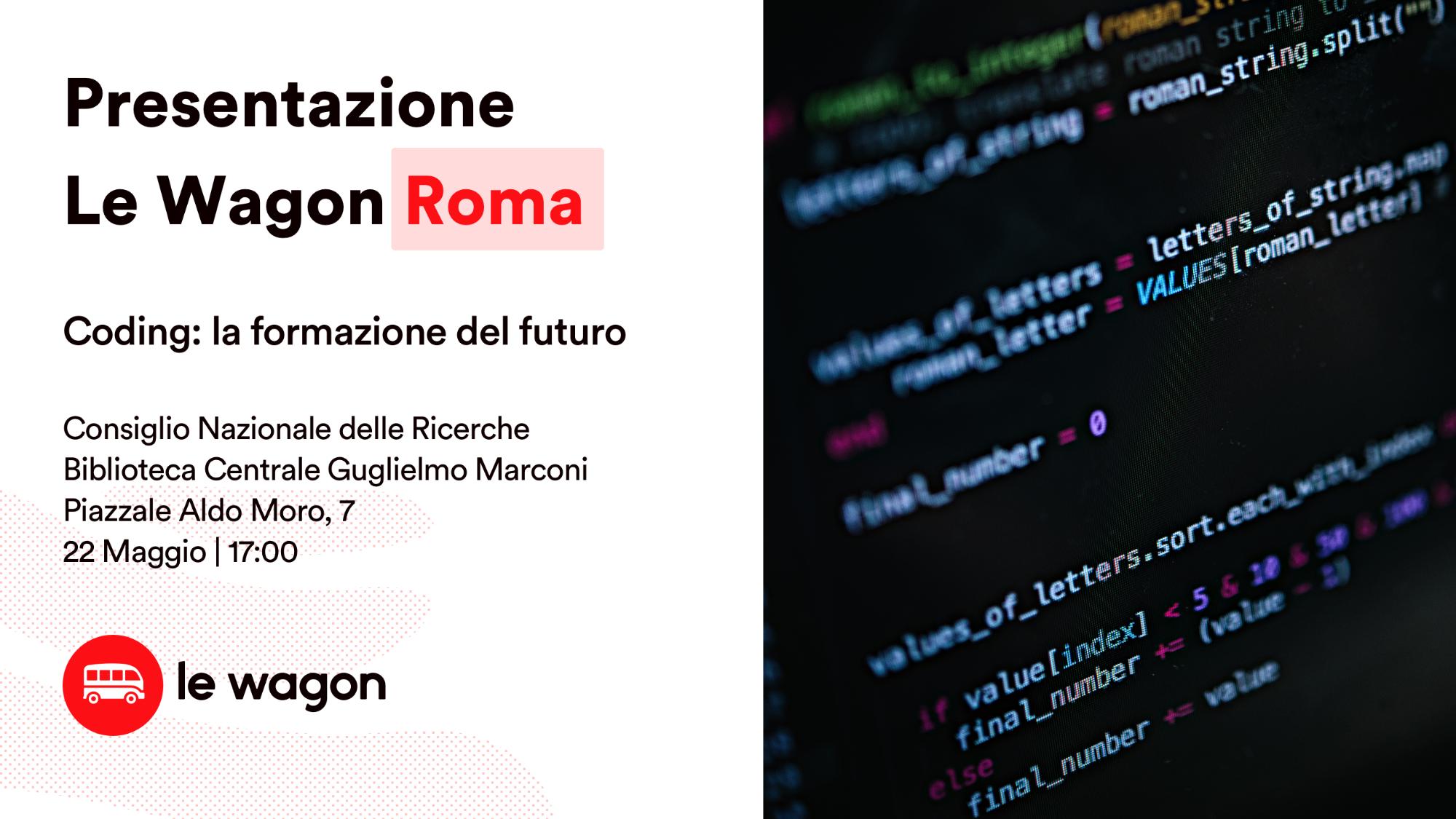 Le Wagon ROMA_ Coding: la formazione del futuro